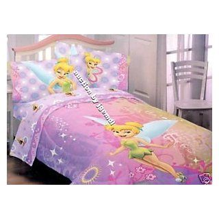 Disney Fairies Tinkerbell Pre Washed Twin Comforter Home