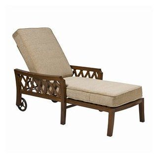 Woodard 9L0470 48 66E Devonshire Adjustable Outdoor Chaise