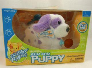 New Zhu Zhu Go Go Pets Toy Puppy Howser Dalmation Dog