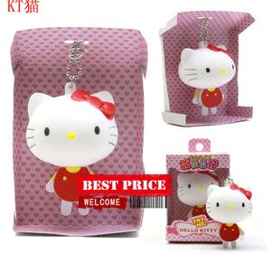 Cute Baby Disney Hello Kitty Cellphone Bag Strap Hanger Charm