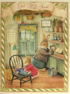 Susan Wheeler Holly Pond Hill Bunny Rabbit Doctor Get Well Soon