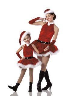 Teachers SANTAS HELPER Dress Only CHRISTMAS Dance HALLOWEEN Costume