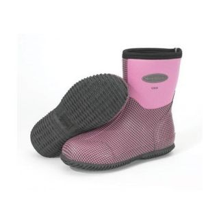Muck Boot Scrub Boot Dusty Pink Houndstooth Womens Sizes 4 11 Lawn