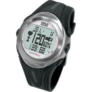 Pyle Digital Heart Rate Monitor Watch w Calorie Counter and Stop Watch