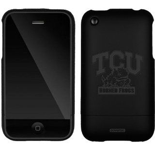 TCU Horned Frogs design on a Black iPhone 3G/3GS Slider