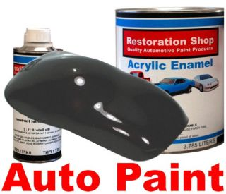 Black Cherry Pearl Acrylic Enamel Car Auto Paint Kit