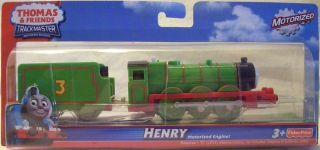 Henry Thomas Friends Trackmaster Engine New