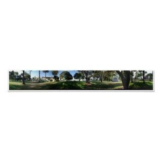 Panorama of Pershing Park Santa Barbara California Taken Late 2008