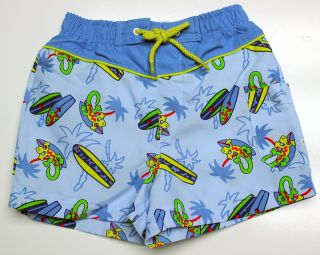 Boy Sz 12 Month Swimtrunks 12M Boutique Make A Splash Baby Buns Swim