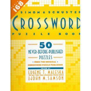 Simon & Schuster Crossword Puzzle Book #168 (Simon & Schuster