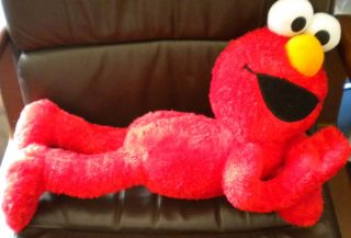 Fisher Price Sesame Street Elmo Nap Buddy Plush Toy