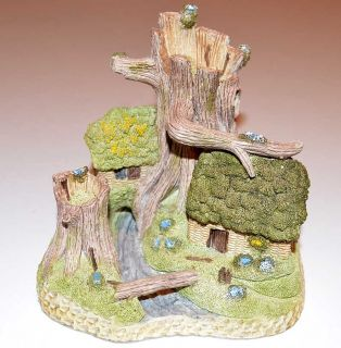 "David Winter Cottages ""Robin Hood's Hideaway""   Hand Painted"