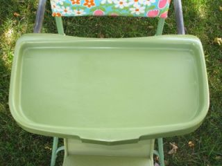 This Listing is for a 1960s Thayer Flower Power High Chair