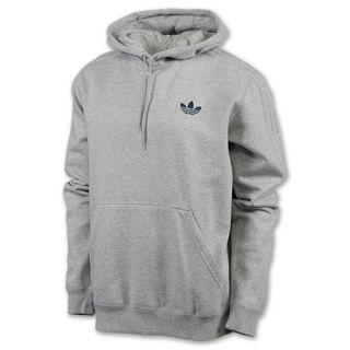 adidas Mens Fleece Hoodie Grey