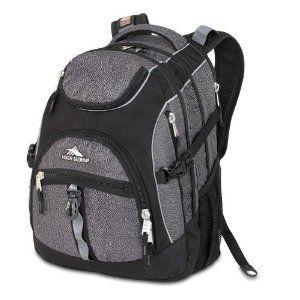High Sierra Access Backpack Black Armor F328