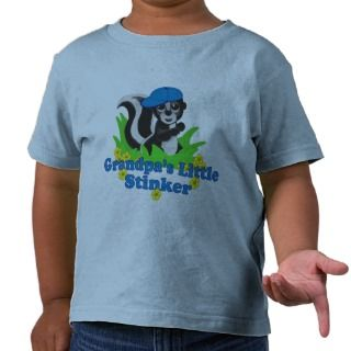 Grandpas Little Stinker Boy Shirts