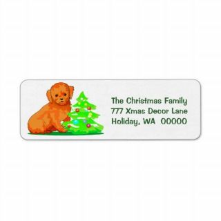 Create Christmas Cards Envelope Stickers Custom Return Address Labels