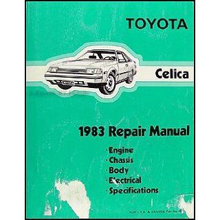 1983 Toyota Celica Wiring Diagram Manual Original: Toyota: