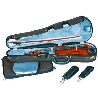Concord Deluxe Shaped Violin Case w/ Detachable full size
