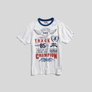Tommy Hilfiger Big Boys Graphic Tee
