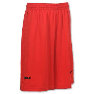 Nike Lebron Game Time Mens Basketball Shorts Red