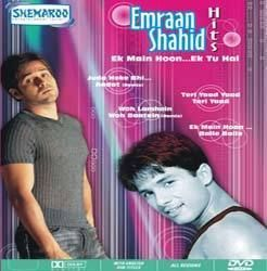 Emraan Shahid Hits Bollywood Hindi Songs DVD