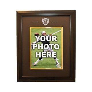 Caseworks Oakland Raiders Black Cabinet Picture Frame