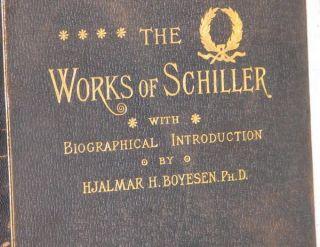 Schillers Works 4 Vol Set J G Fischer George Barrie