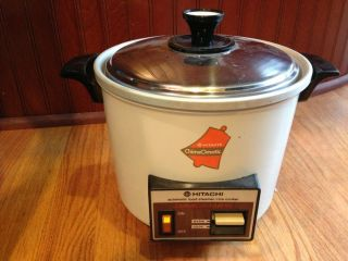 HITACHI CHIME O MATIC RD 6103 578N Auto RICE COOKER FOOD STEAMER 6