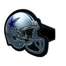 Dallas Cowboys Plastic Helmet Hitch Plug Cover   FREE & FAST Shipping