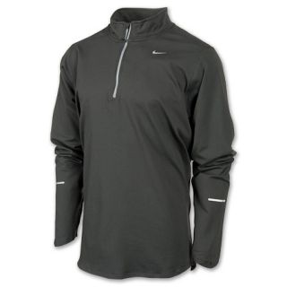 Mens Nike Element Half Zip Jacket Dark Grey