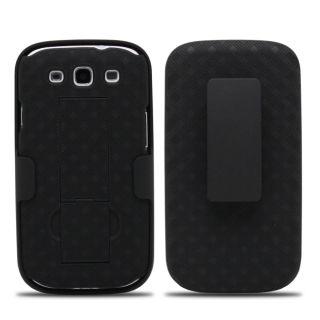 Verizon Criss Cross Holster w/ Kickstand for Samsung Galaxy S III / S3