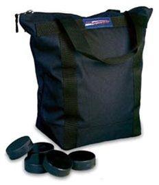 50 Hockey Pucks for Practice High Quality Bag