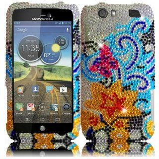 VMG Motorola Atrix HD AT&T Gem Bling Design Hard Case