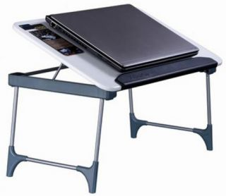 Portable Folding Laptop Table Stand Desk Bed Sofa Tray