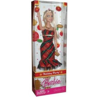 Barbie Holiday Party Christmas Doll New