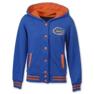 Florida Gators Varsity Blues NCAA Womens Hoodie Jacket