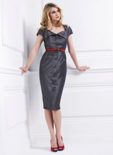 Holly Willoughby Vintage 40s 50s Rep Wiggle Galaxy Pinup Rockabilly