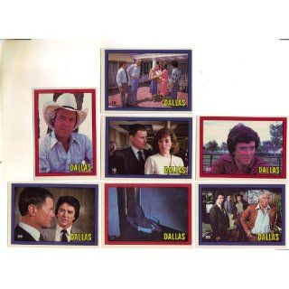 Vintage Dallas TV Show Trading Cards 1981: Everything Else