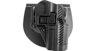 Blackhawk SERPA Carbon Fiber Finish Holster Paddle Belt Loop Walther