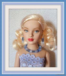 Lace Dress + Jewelry 4 TINY KITTY DOLL Custom Fashion Beautiful