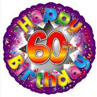 Partyexplosion Happy 60Th Birthday Explosion 18Inch Foil