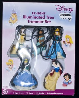 Best DISNEY Princess EZ Light Illuminated Tree Trimmer Light Set