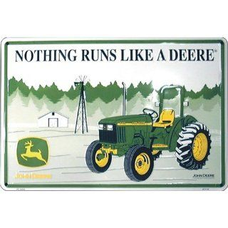 John Deere This Farm Uses Quality Equipment Parking Sign :