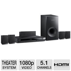 Samsung HT E350 Home Theater System DVD 036725617995