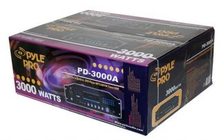 New Pyle 3000W Home Audio Receiver CD/DVD/ Player PD3000A