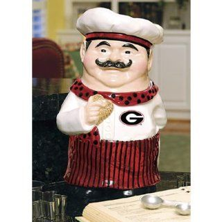 Georgia Bulldogs Chef Ceramic Cookie Jar Sports