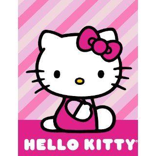 Northwest Hello Kitty Twin Size 60x80 Raschel Blanket