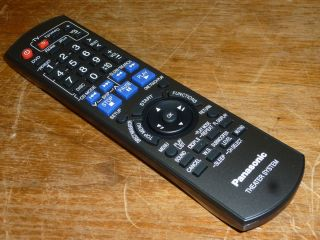 Panasonic N2QAYB000214 Home Theater System Remote SA SC PT760 PT954