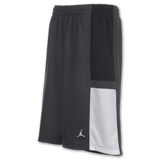 Mens Jordan Bankroll Shorts Dark Grey/Black/White